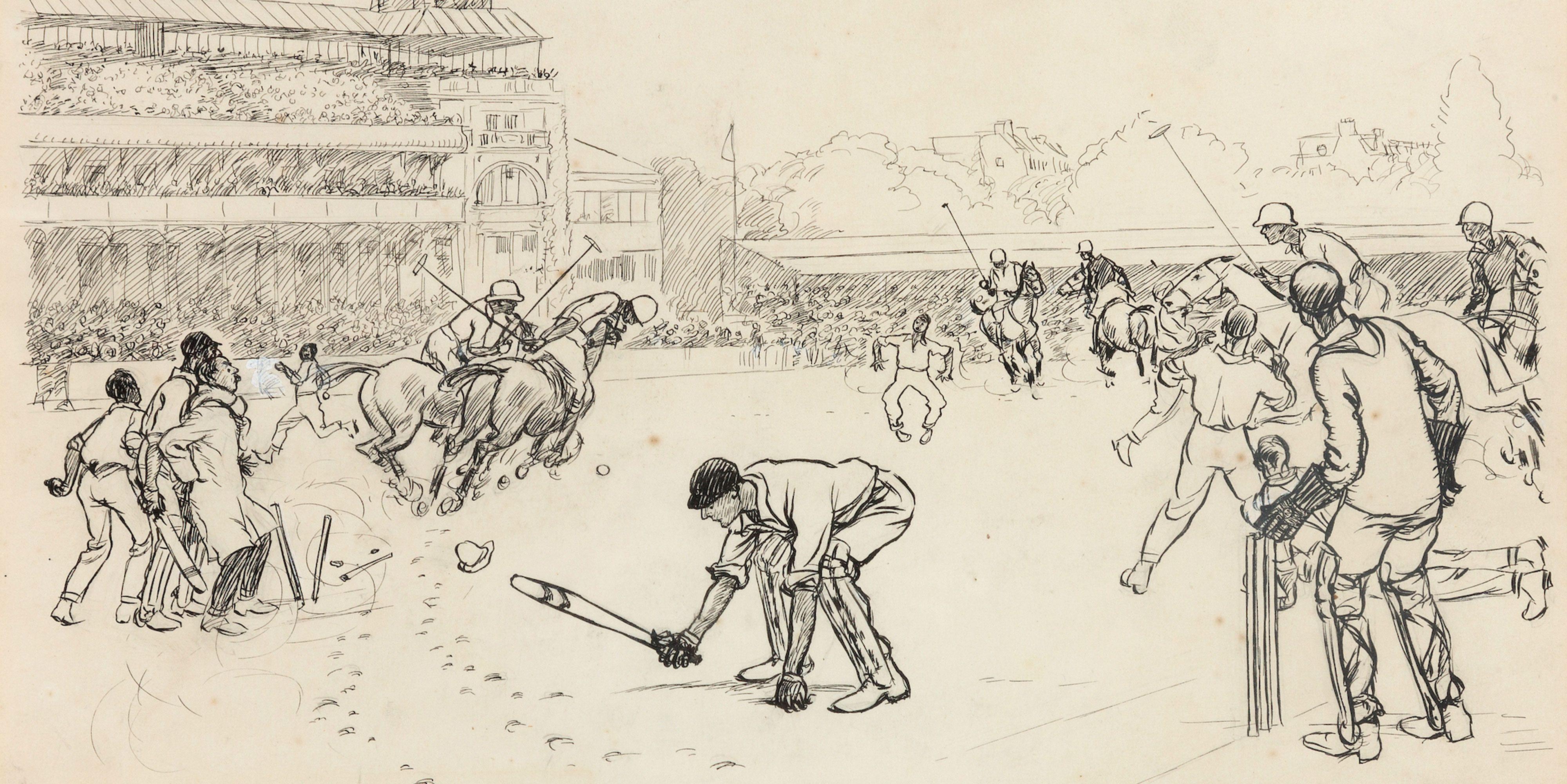 Graham Budd launches an online auction for polo aficionados