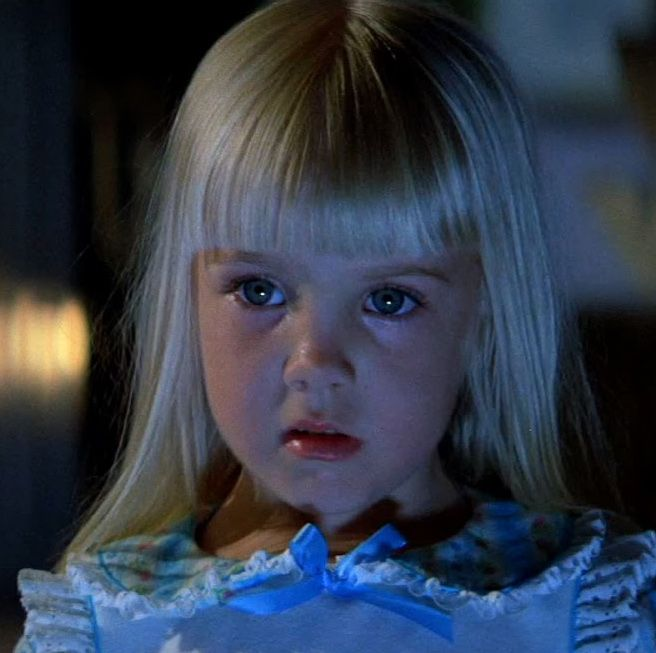 "Poltergeist A suburban California family is terrorized by a host of invisible ghosts and monsters—some playful, some downright evil—in this Steven Spielberg-penned film. It's full of jump scares, ominous moods, and psychological horror, and it features one of the most iconic lines in the history of scary movies: ""They're heeeere ."""