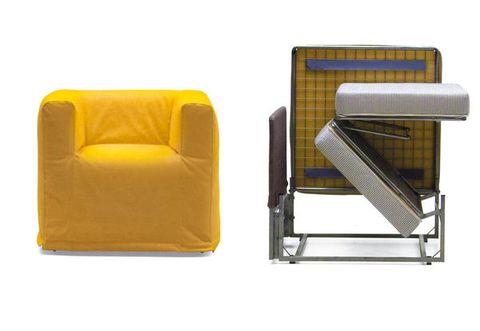 Poltrona letto: singolo e di design, le 4 idee salvaspazio