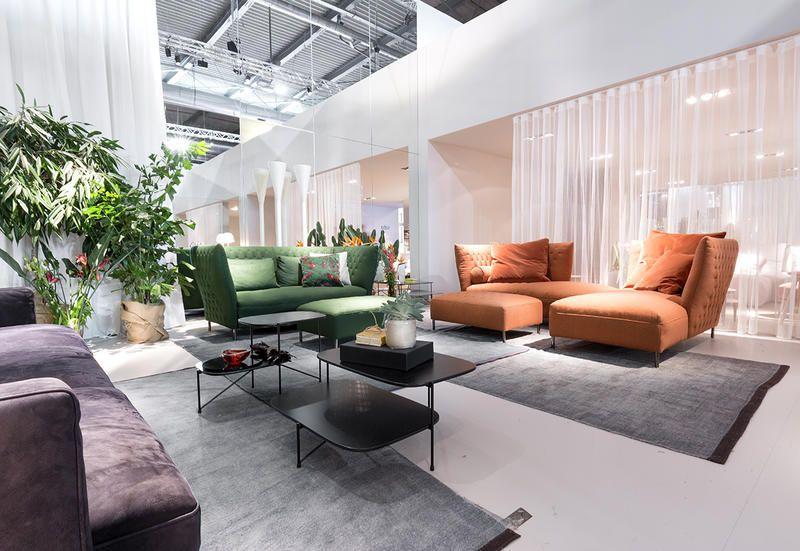 Poltrone e divani tutte le idee arredo viste al salone del mobile