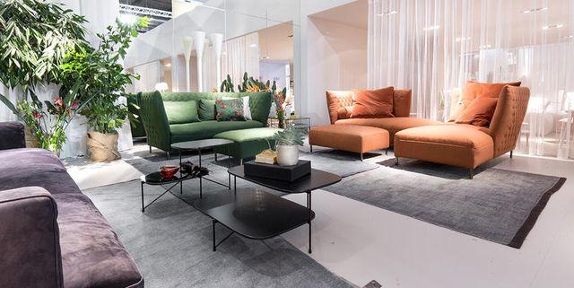 Poltrone e divani: tutte le idee arredo viste al Salone del Mobile 2017