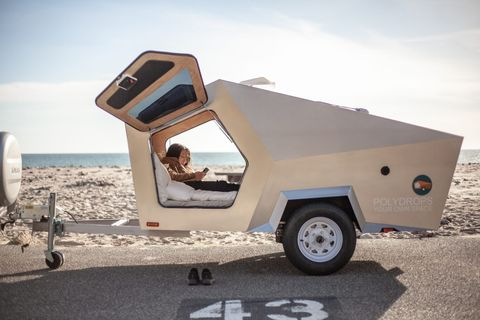 Vehicle, Car, Travel trailer, RV, Automotive exterior, Trailer, Auto part, Truck, Wheel,