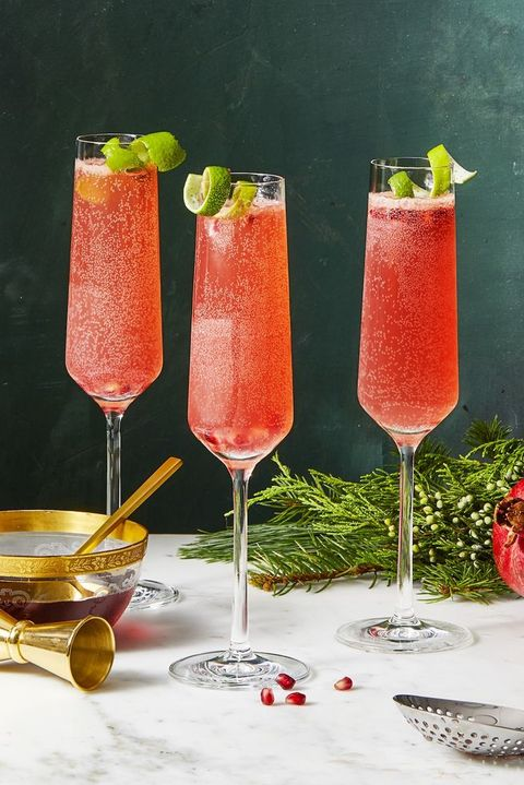 pom lime french 75