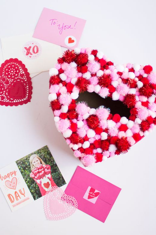 10 Best Diy Valentine S Day Boxes In 2018 Homemade Valentine S Day Box