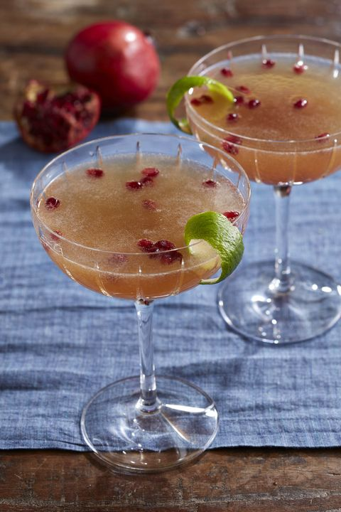 pomegranate french 75