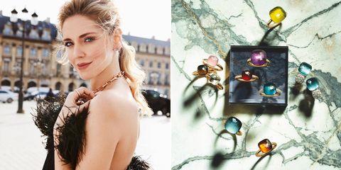 Pomellato, 戒指, 搭配, 珠寶, 義大利, 飾品, 推薦, 臺灣, 微風, 寶曼蘭朵, 價格, Chiara Ferragani