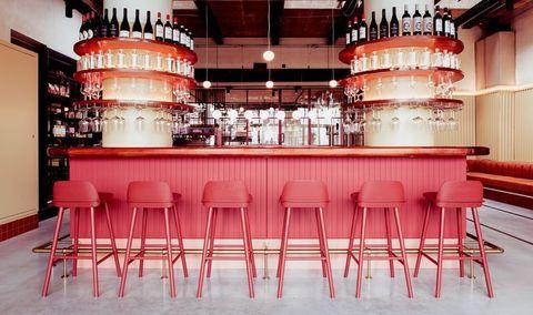 De bar van Pompen & Verlouw