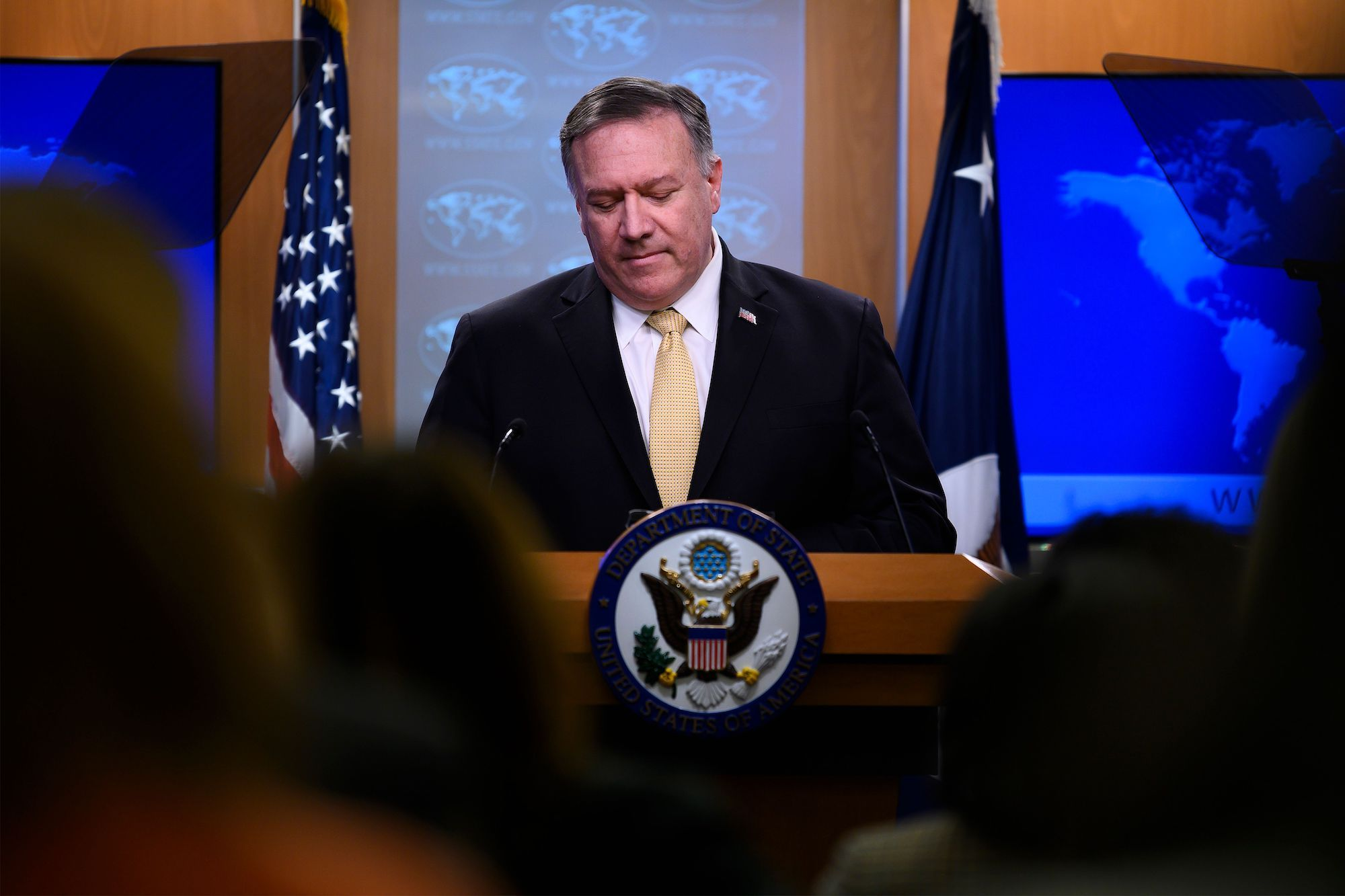 Mike Pompeo 'Always Defends' His People, Except When They Need Defending