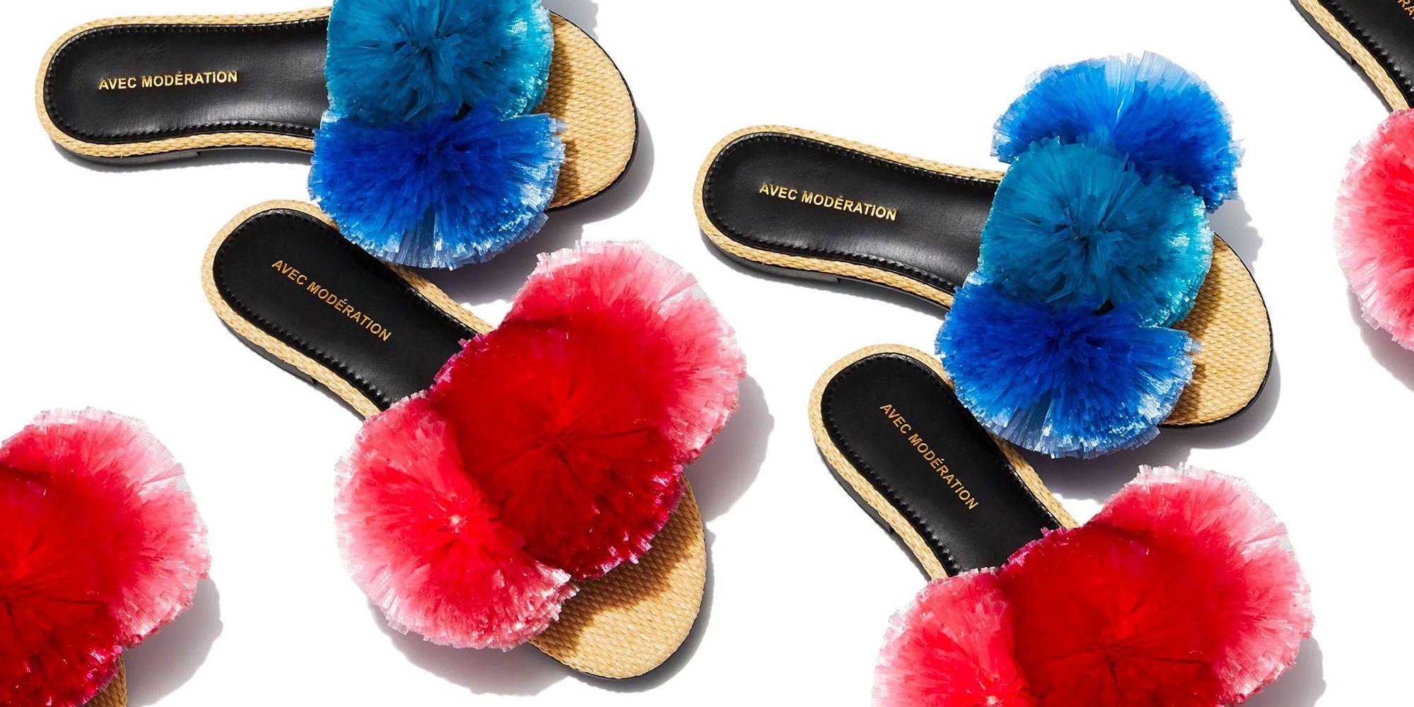 Stylish Pom Pom Sandals \u0026 Heels