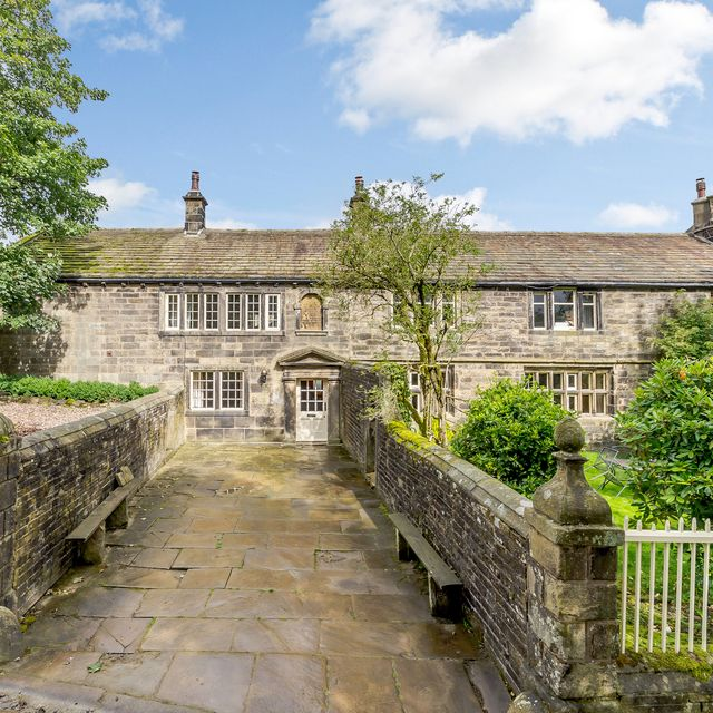 ponden hall which inspired emily bronte's wuthering heights is up for sale in west yorkshire