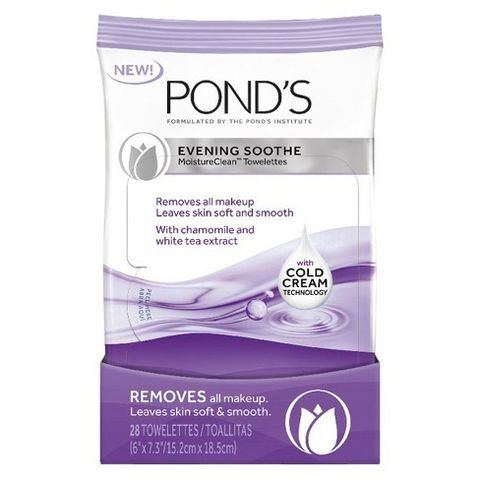 Pond's Evening Sooth MoistureClean Towelettes