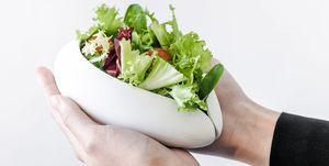 Los platos que te enseñan las cantidades básicas de una alimentación saludable