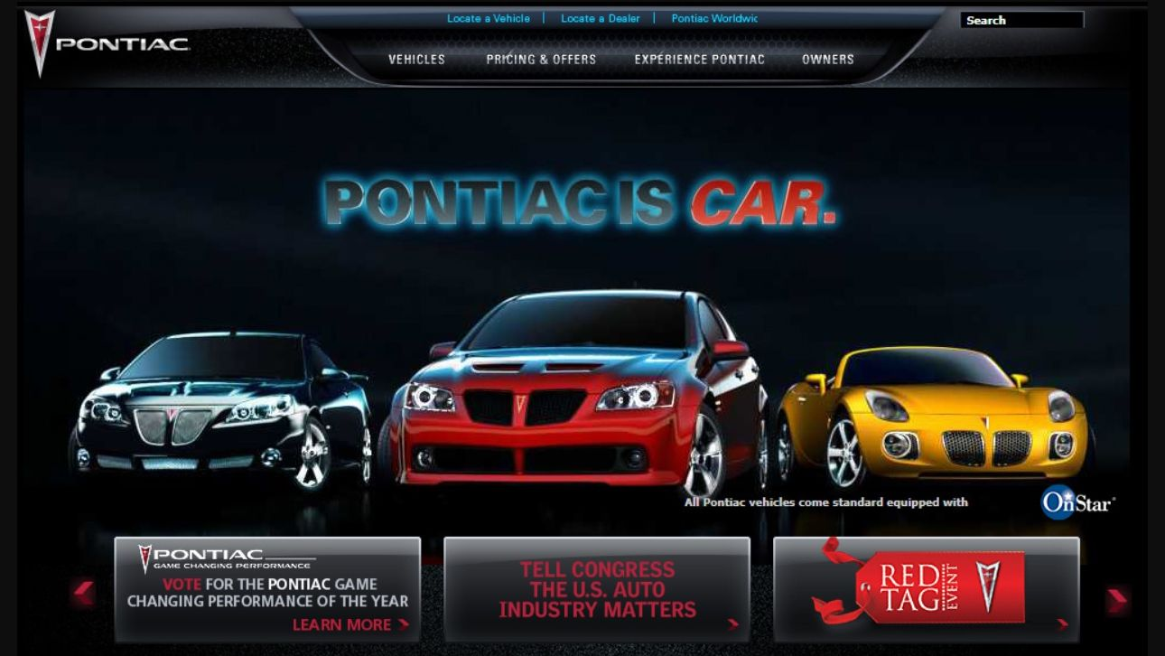 These Car Brands Aren't Around Anymore, but You Can Still View Their Websites