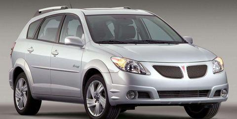 Land vehicle, Vehicle, Car, Motor vehicle, Pontiac vibe, Automotive design, Automotive tire, Grille, Luxury vehicle, Sport utility vehicle,