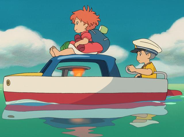 Ponyo en el acantilado': 'La Sirenita' ecologista del Studio Ghibli