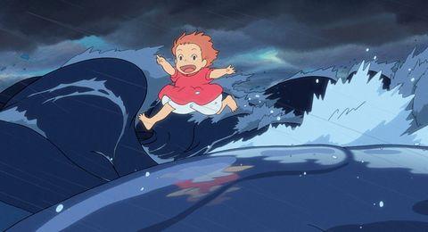 ponyo en el acantilado hayao miyazaki