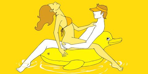 Yellow, Elbow, Stomach, Knee, Illustration, Abdomen, Love, Drawing, Painting, Graphics,