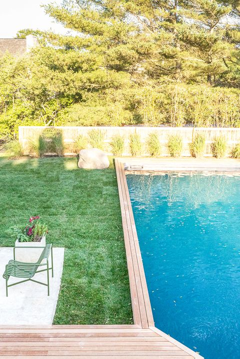 Property, Swimming pool, Grass, Backyard, Real estate, House, Deck, Estate, Yard, Home,