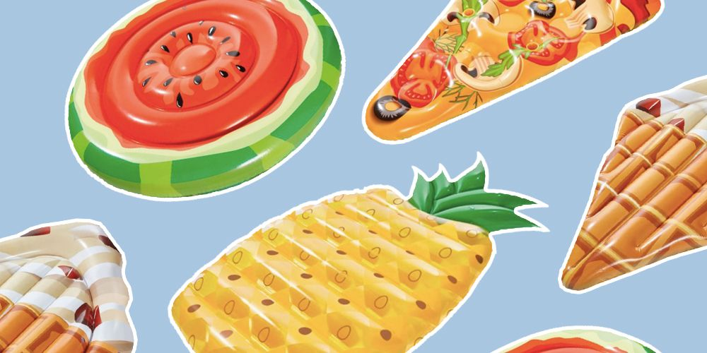 Lidl have their own pool floats and they're as cheap as they are cool