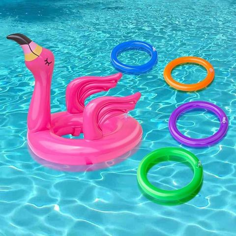pool games - inflatable ring toss game