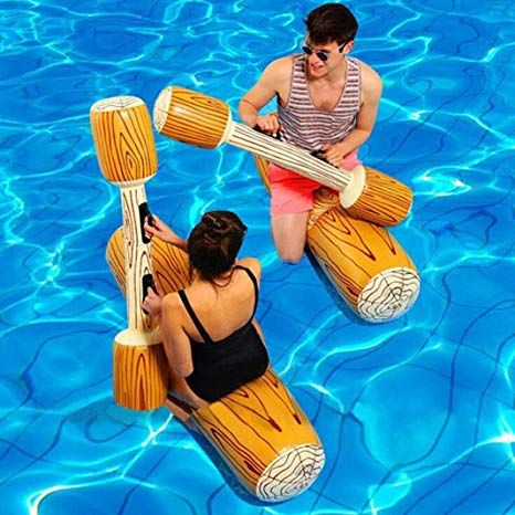 pool games - water jousting