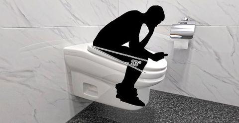 White, Toilet, Plumbing fixture, Black-and-white, Arm, Leg, Design, Architecture, Toilet seat, Plumbing,