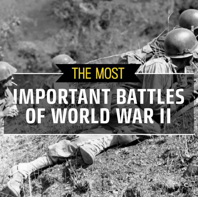 important battles of world war ii