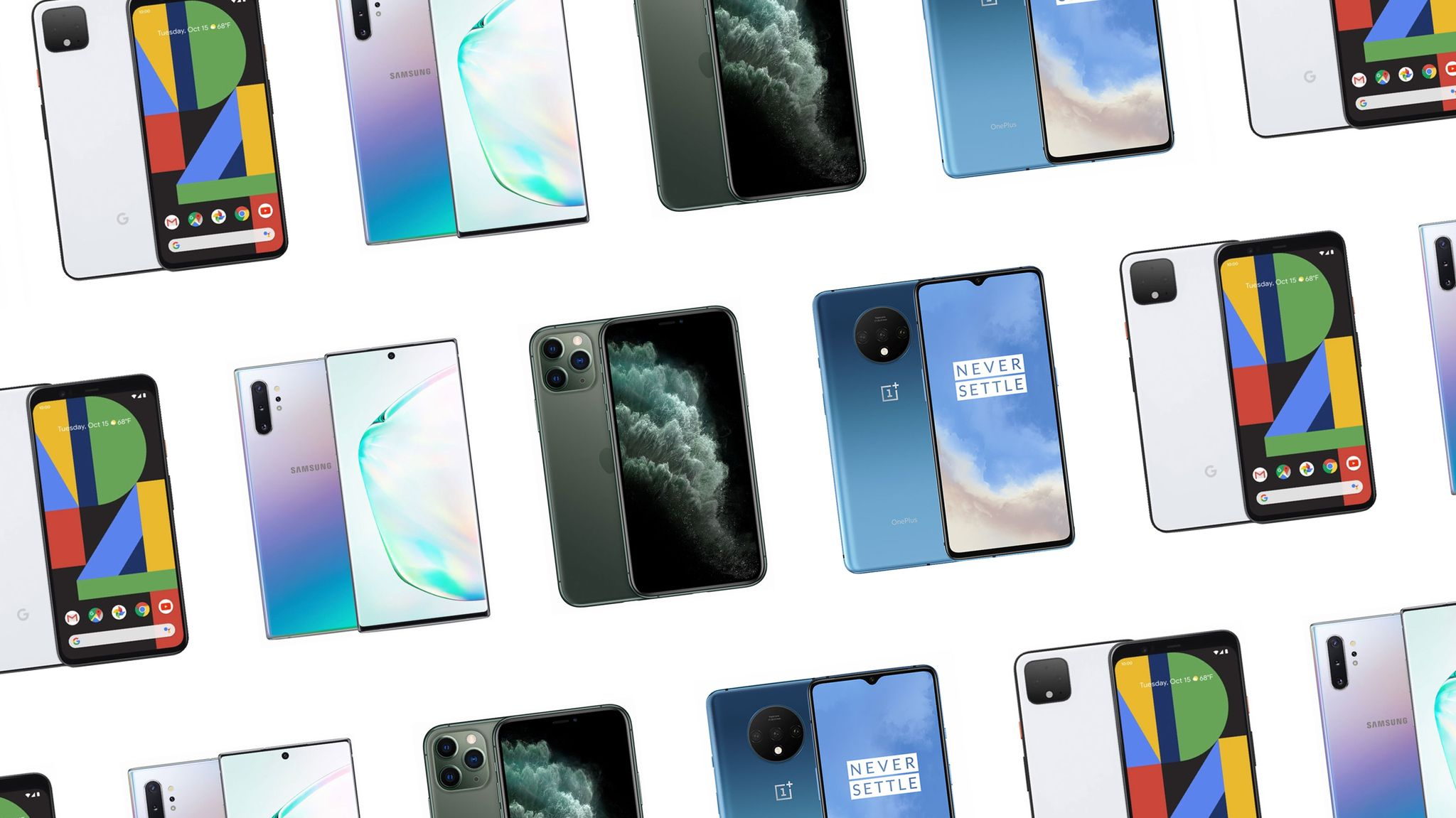 The Best Camera Phones, Whether You're an Apple Fan or Android Adherent