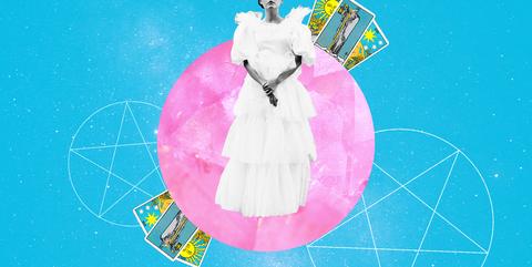 Pink, Circle, Fictional character, Illustration,