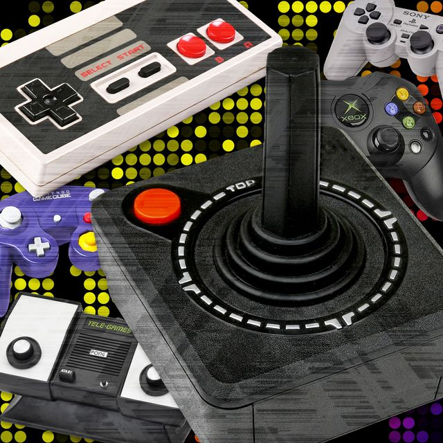evolution of video game controller