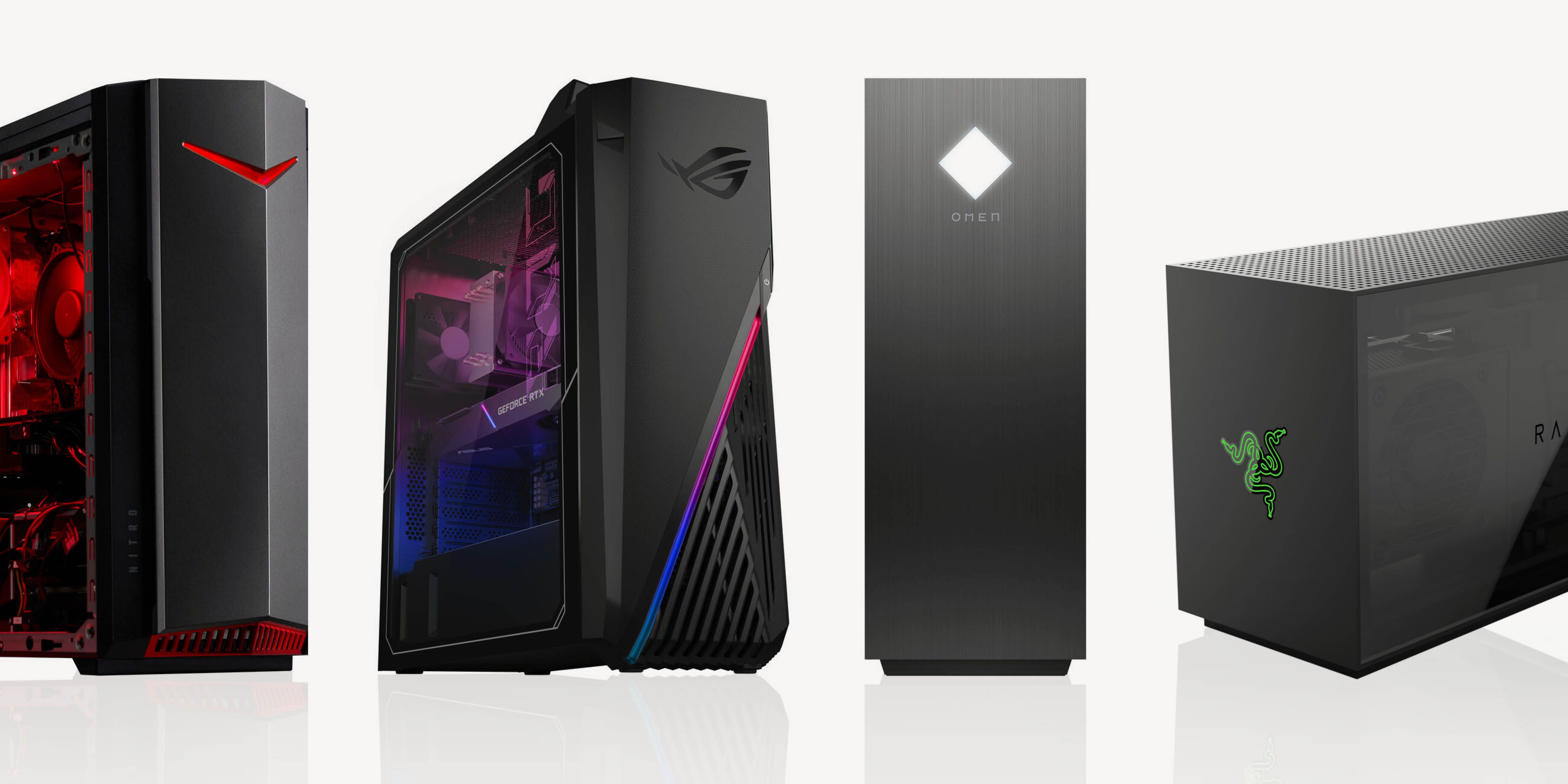 Best Desktop Gaming PCs 2021   Gaming Computer Reviews