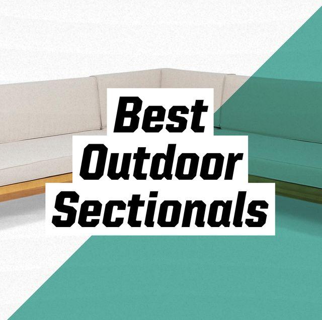 best outdoor sectionals