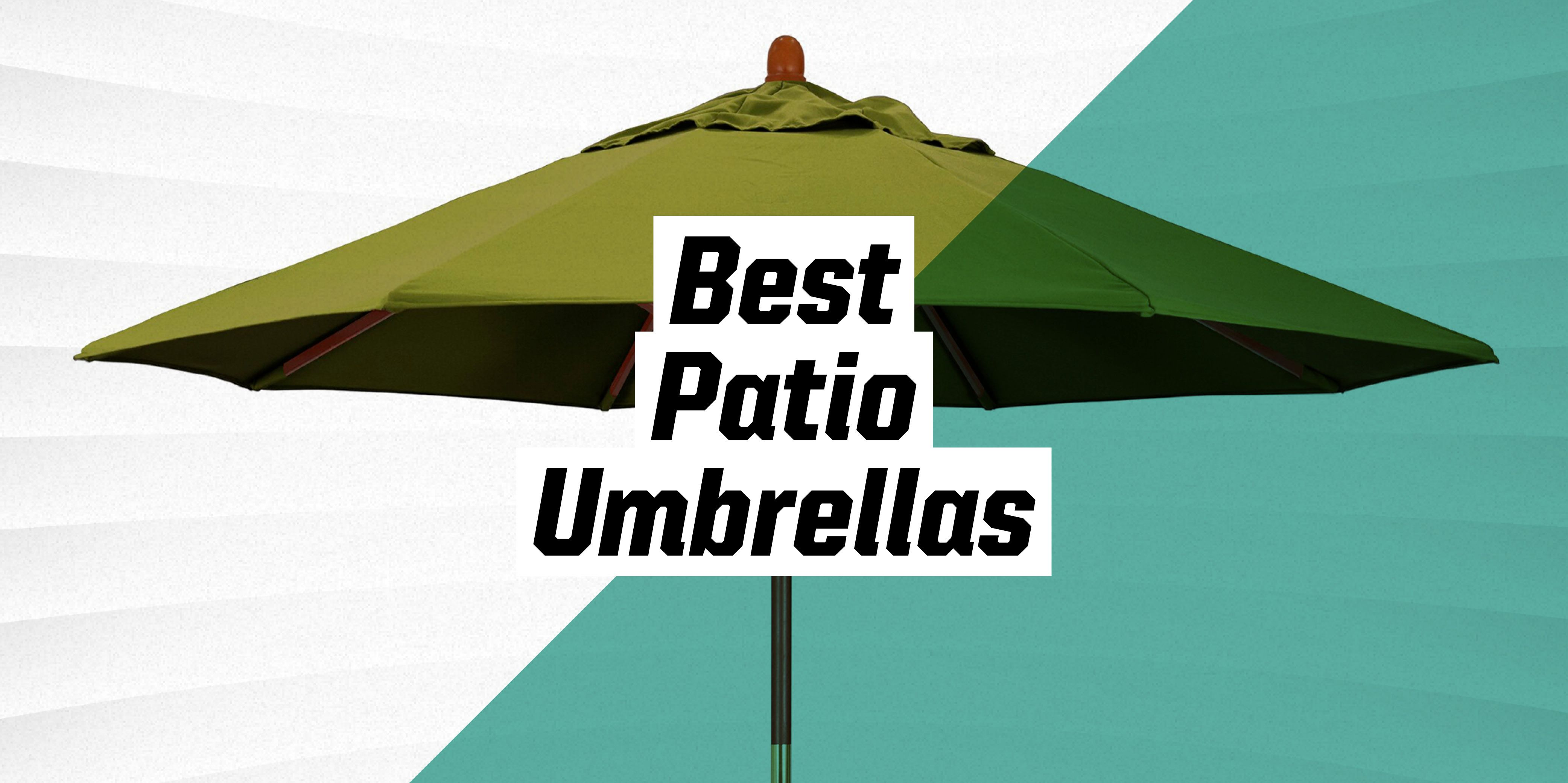 The 10 Best Patio Umbrellas for Your Outdoor Space