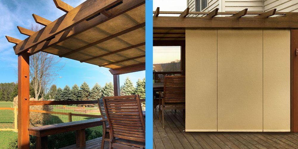Diy Pergola Shade, Outdoor Deck Shades