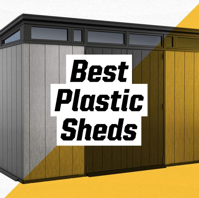 best plastic sheds