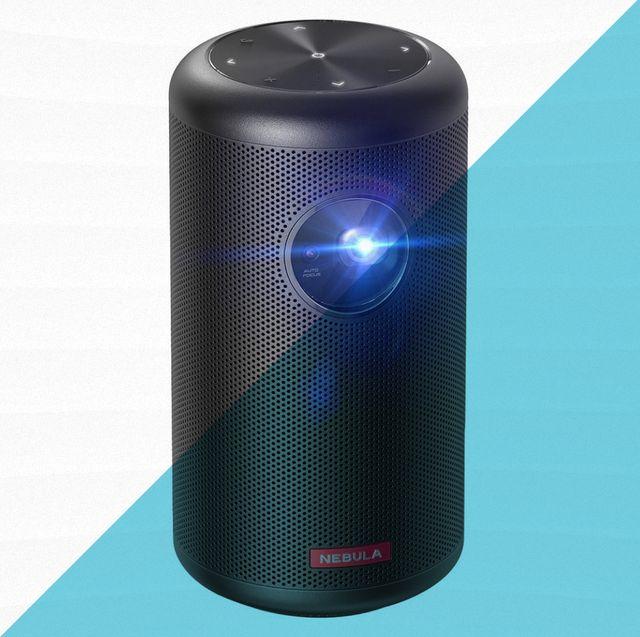 black nebula branded projector
