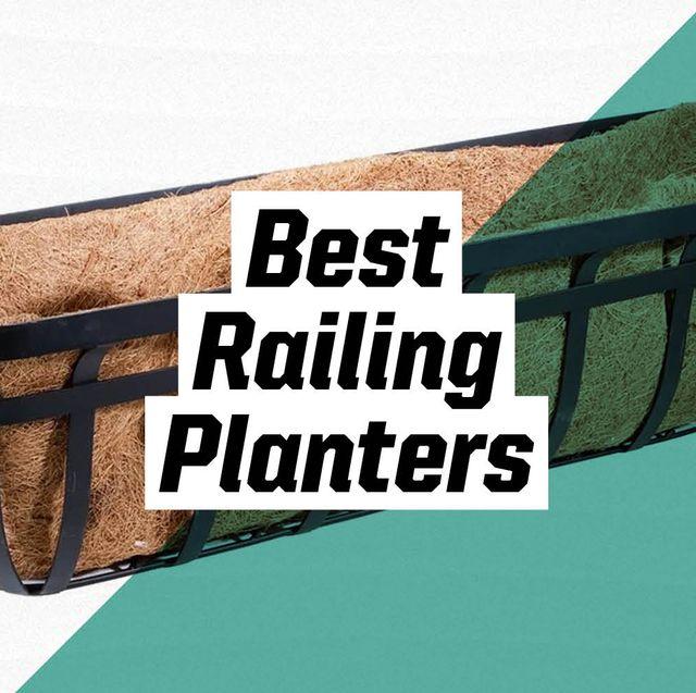 best railing planters