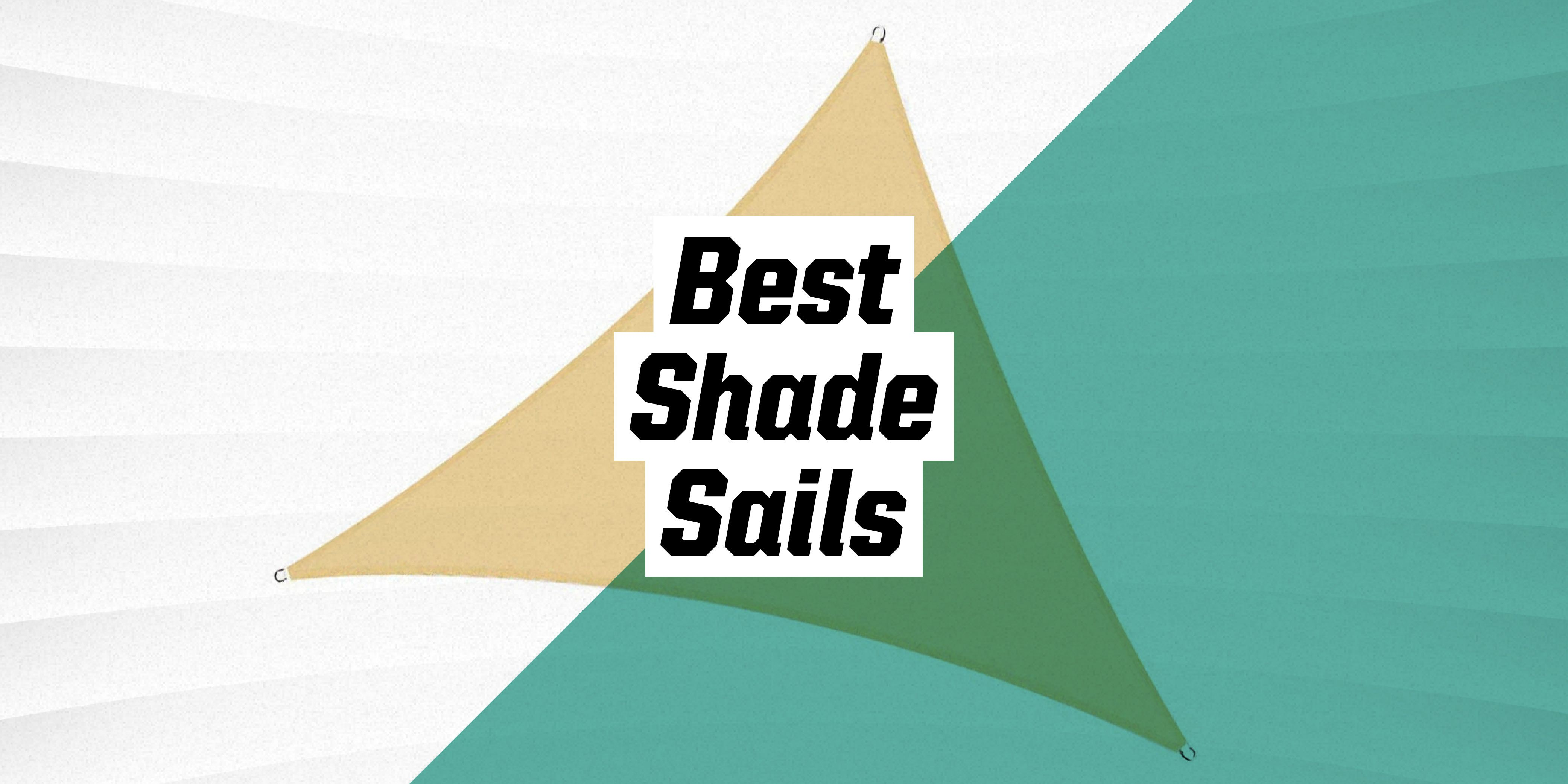 The 10 Best Shade Sails to Beat the Heat