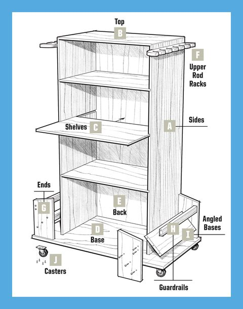 storage cabinet for pop projects