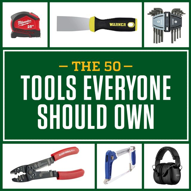 50 tools everyone should own