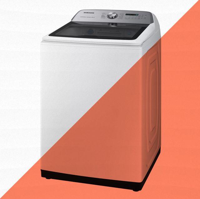white samsung washer