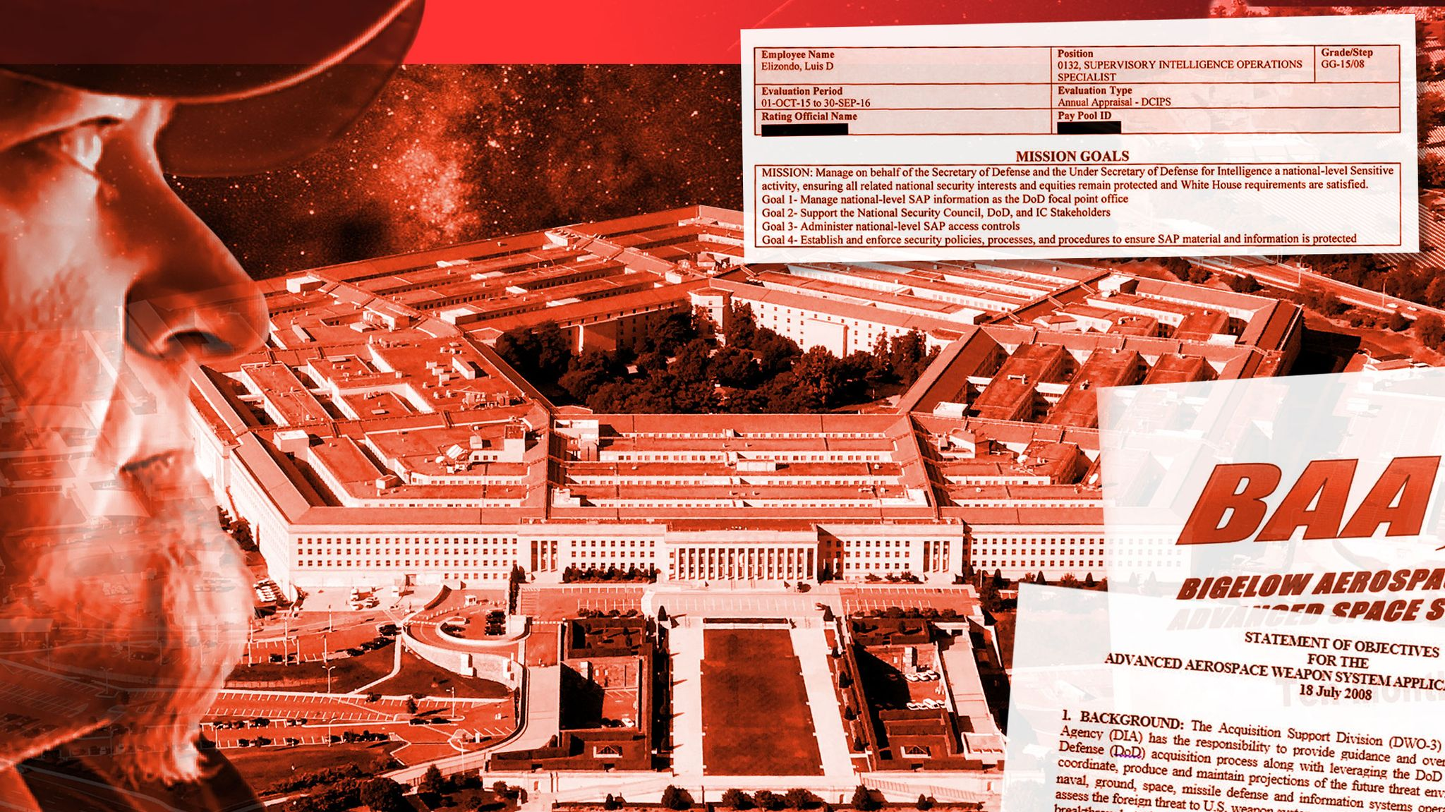 Inside the Pentagon's Secret UFO Program