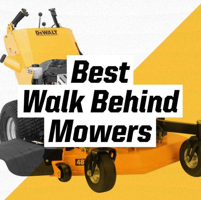 best walk behind mowers