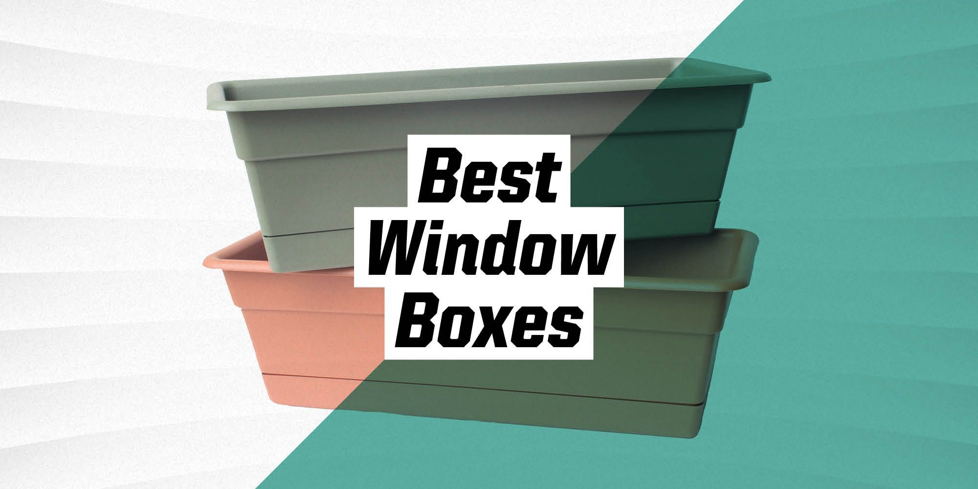 The 9 Best Window Boxes for Your Favorite Summer Blooms