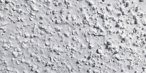 popcorn ceiling texture close up