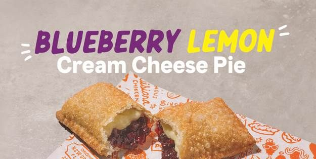Popeyes Blueberry Lemon Cream Cheese Pie Is Out Now