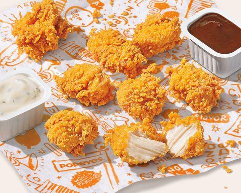 popeyes chicken nuggets
