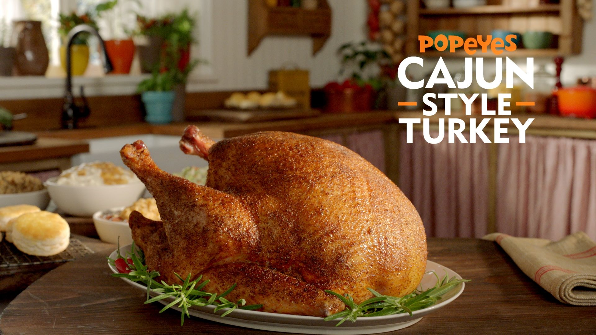 You Can Pick Up Cajun-Style Turkey From Popeyes On Thanksgiving So Your Holiday Is About To Get Stupid Easy