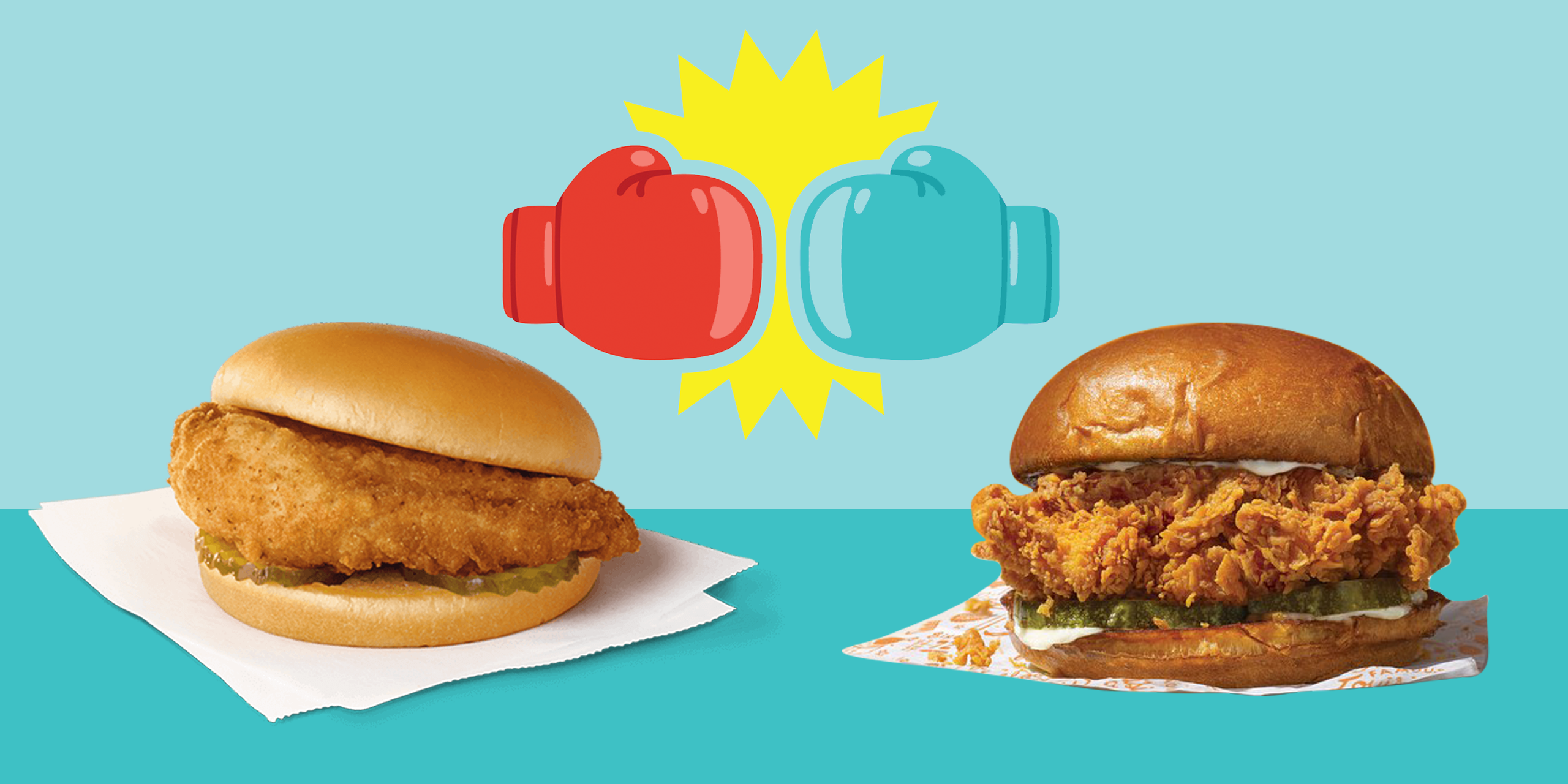 Popeyes vs. Chick-fil-A Chicken Sandwich: Dietitians Weigh In On Calories