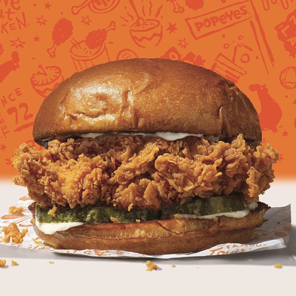 Popeyes, Chick-fil-A, and Wendy's Are Having the Biggest Twitter Feud About Chicken Sandwiches